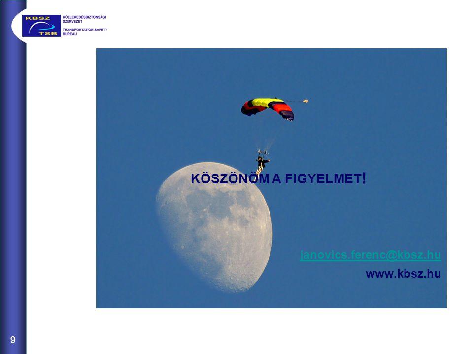 9 KÖSZÖNÖM A FIGYELMET ! janovics.ferenc@kbsz.hu www.kbsz.hu