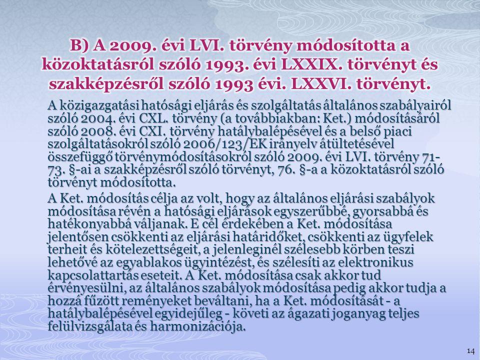 A közigazgatási hatósági eljárás és szolgáltatás általános szabályairól szóló 2004.