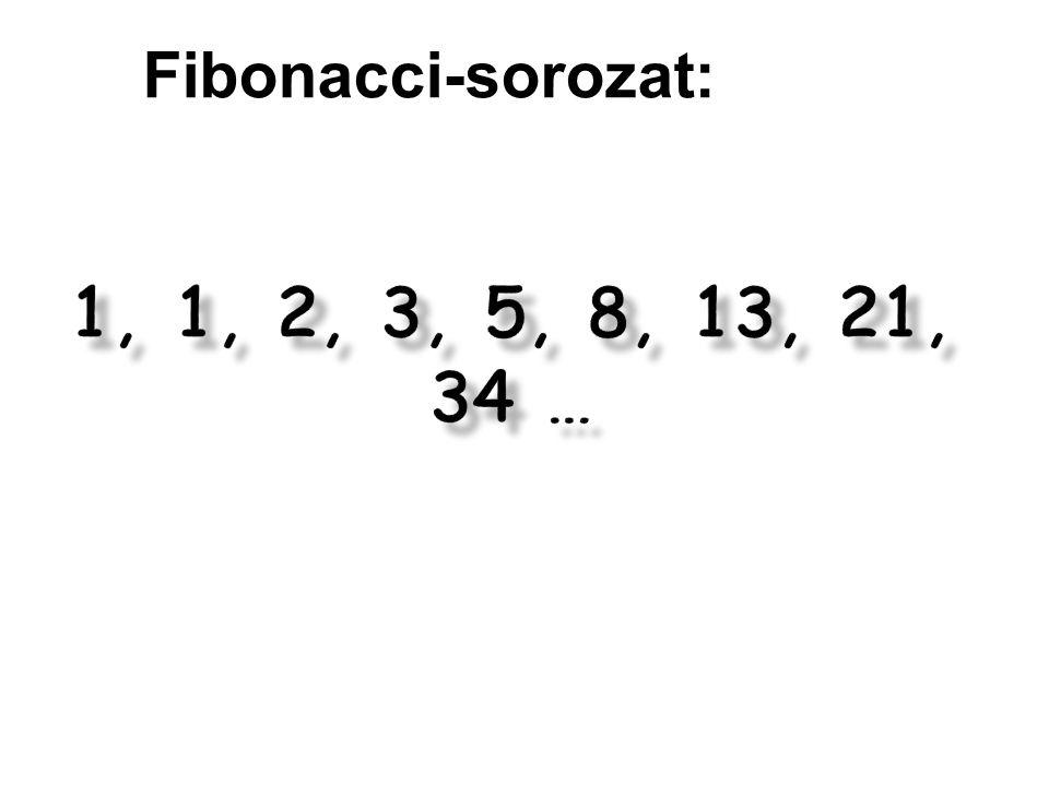 Fibonacci-sorozat: