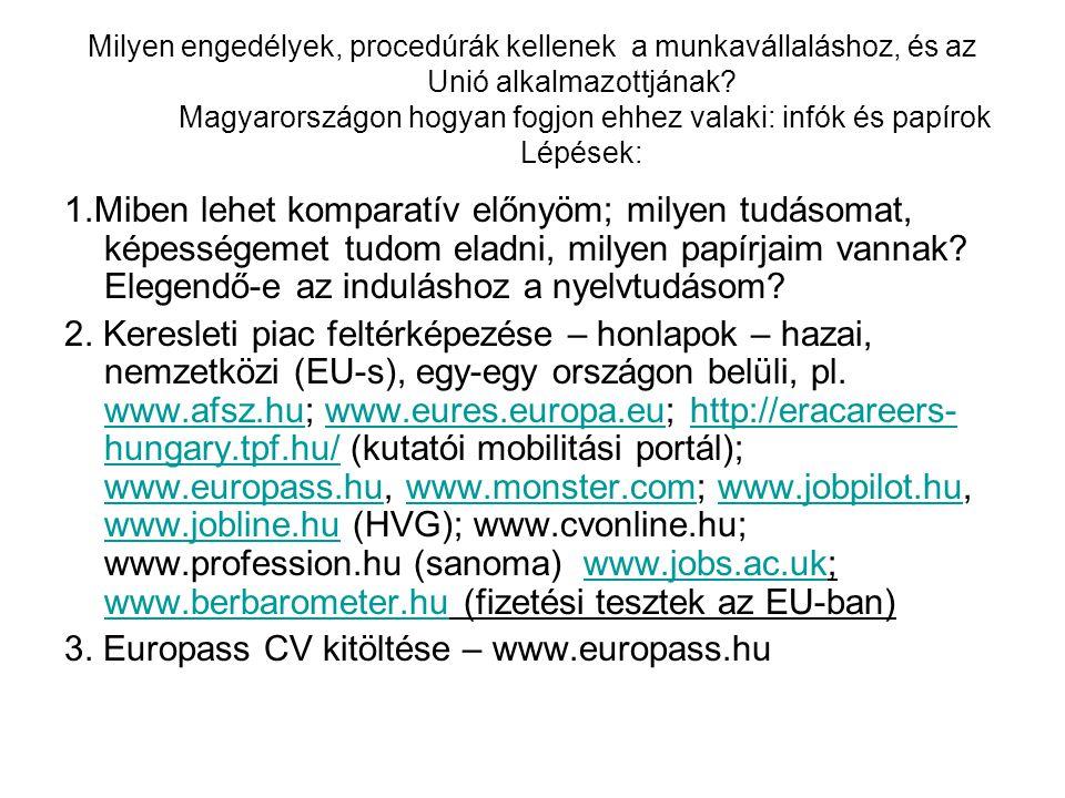 Milyen engedélyek, procedúrák kellenek a munkavállaláshoz, és az Unió alkalmazottjának? Magyarországon hogyan fogjon ehhez valaki: infók és papírok Lé