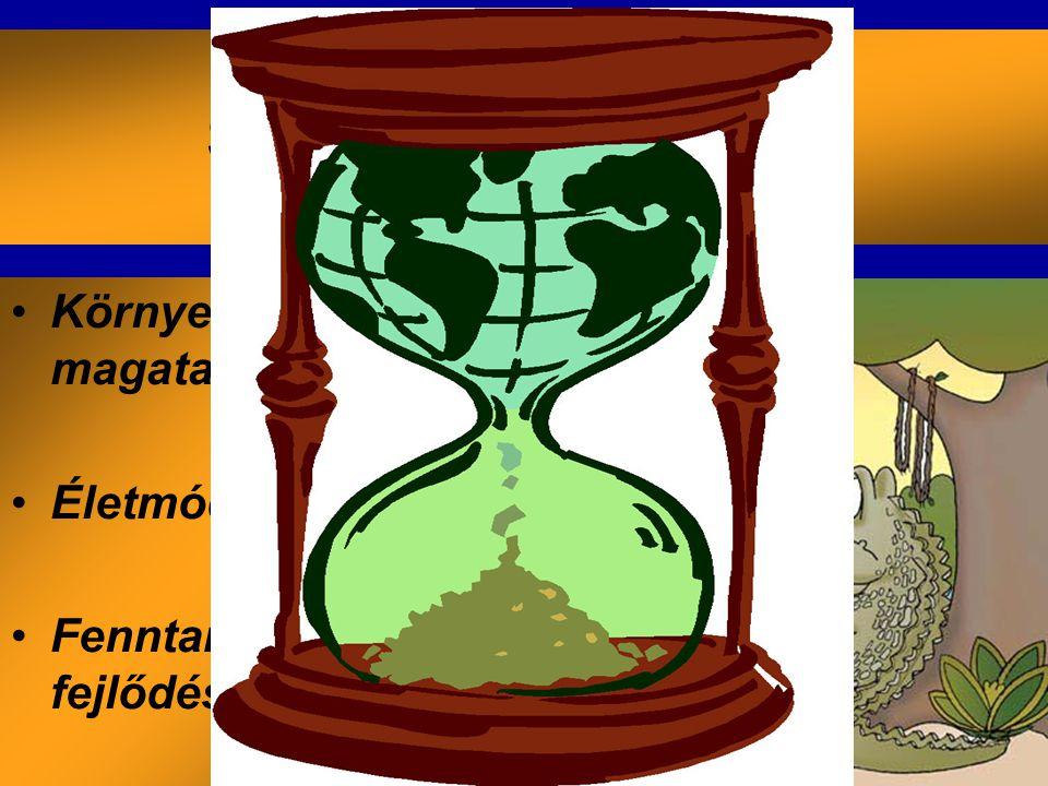 SZEMLÉLETVÁLTÁS Környezetbarát magatartás ↓ Életmódstratégia ↓ Fenntartható fejlődés