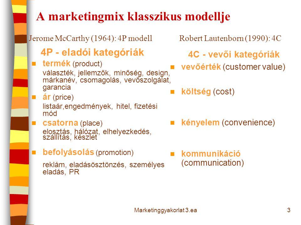 A piac méretét jellemző mutatók 1.