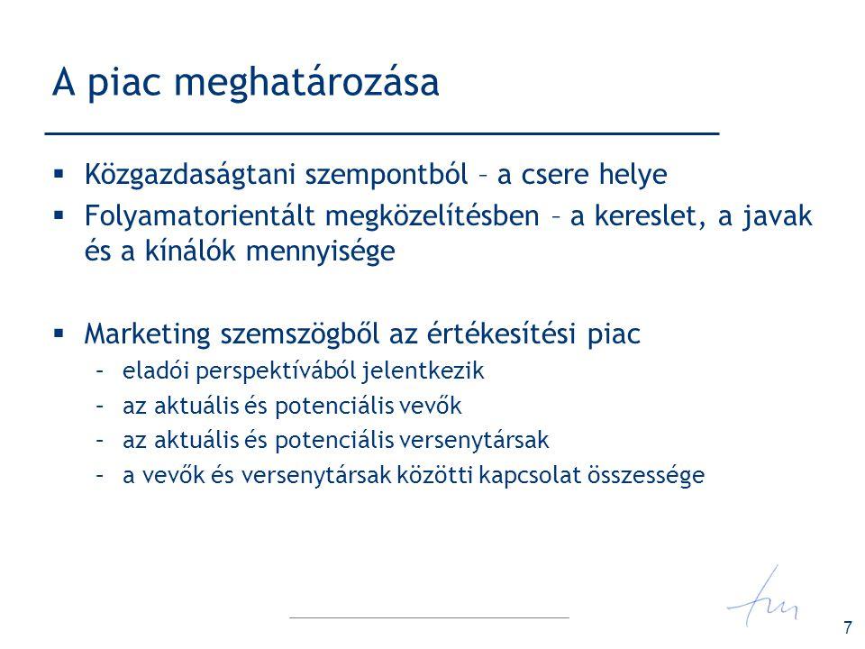 28 A piac ösztönzésének stratégiája  MINŐSÉG- STRATÉGIA –magas ár / alacsony részesedés  ÁR/MENNYISÉG- STRATÉGIA –alacsony ár / magas részesedés  KETTŐS- STRATÉGIA  AZ ÖSSZPONTOSÍTÁS STRATÉGIÁJA