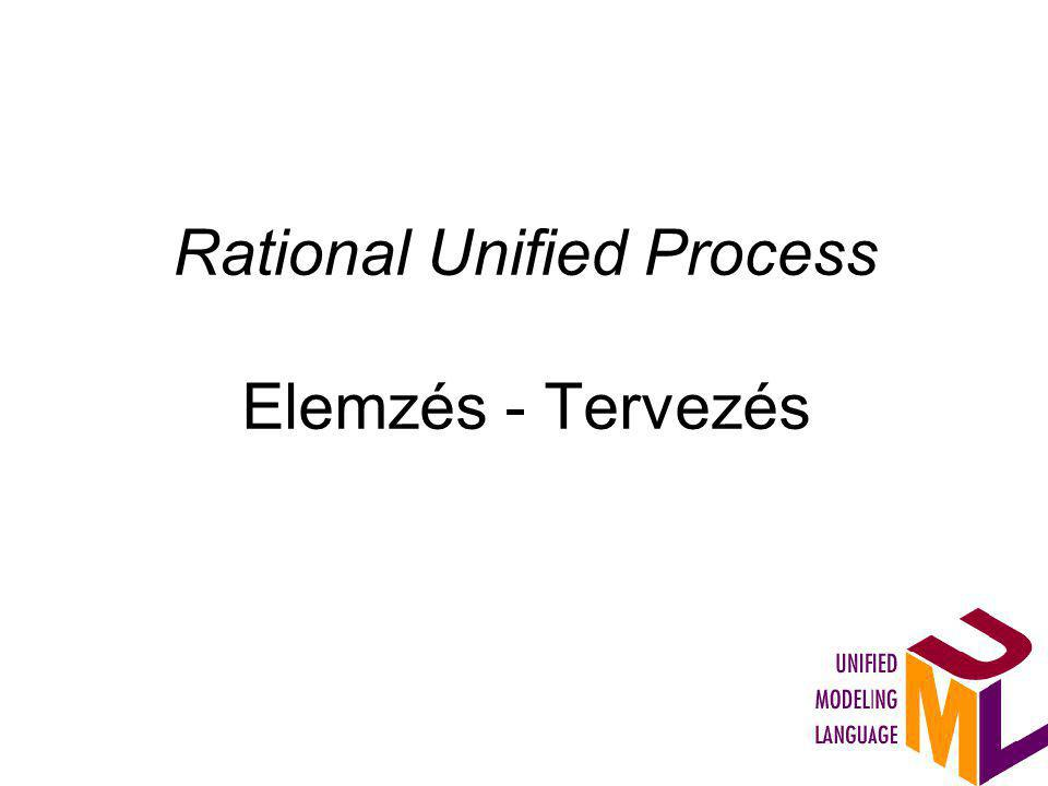Rational Unified Process Elemzés - Tervezés