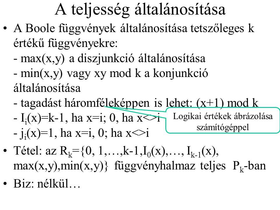 Ha  i rangja>0, akkor  i * úgy származik  i -ből, hogy a benne szereplő f i * függvényjeleket kicseréljük f i *-ra.