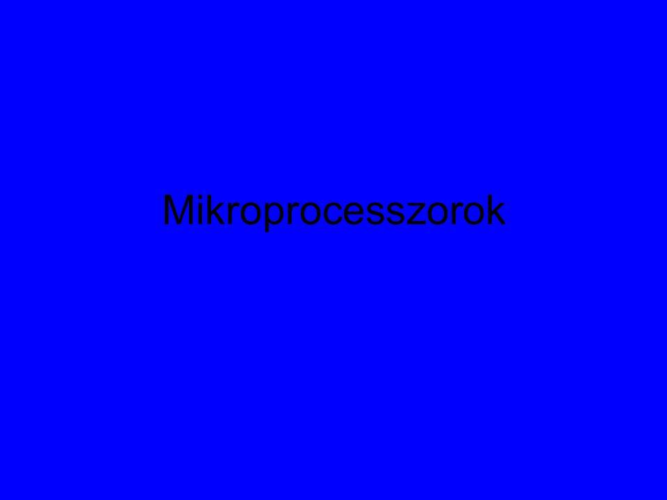 Mikroprocesszorok