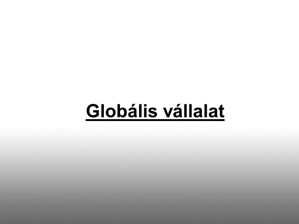 Globális vállalat