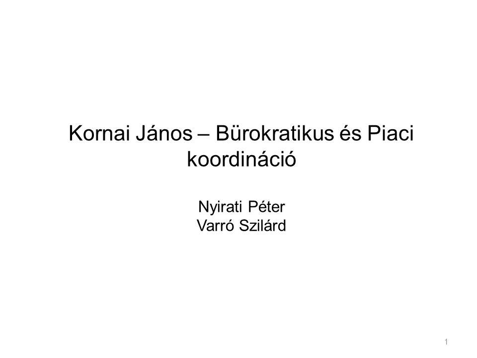 Kornai János Született: 1928.