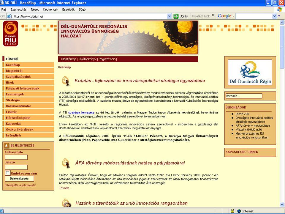 Info architektúrák. Dobay Péter, PTE KTK 24 / 37