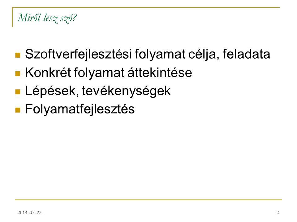 13 Feladattervezés – Ingatlanvagyon Kataszter 2014. 07. 23.