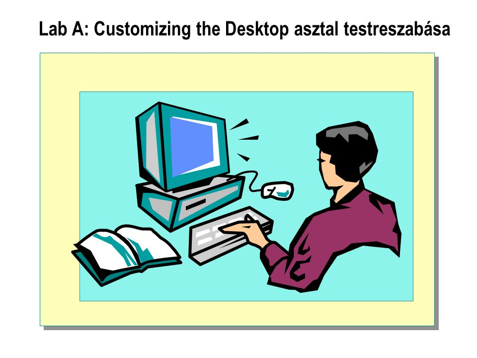Lab A: Customizing the Desktop asztal testreszabása