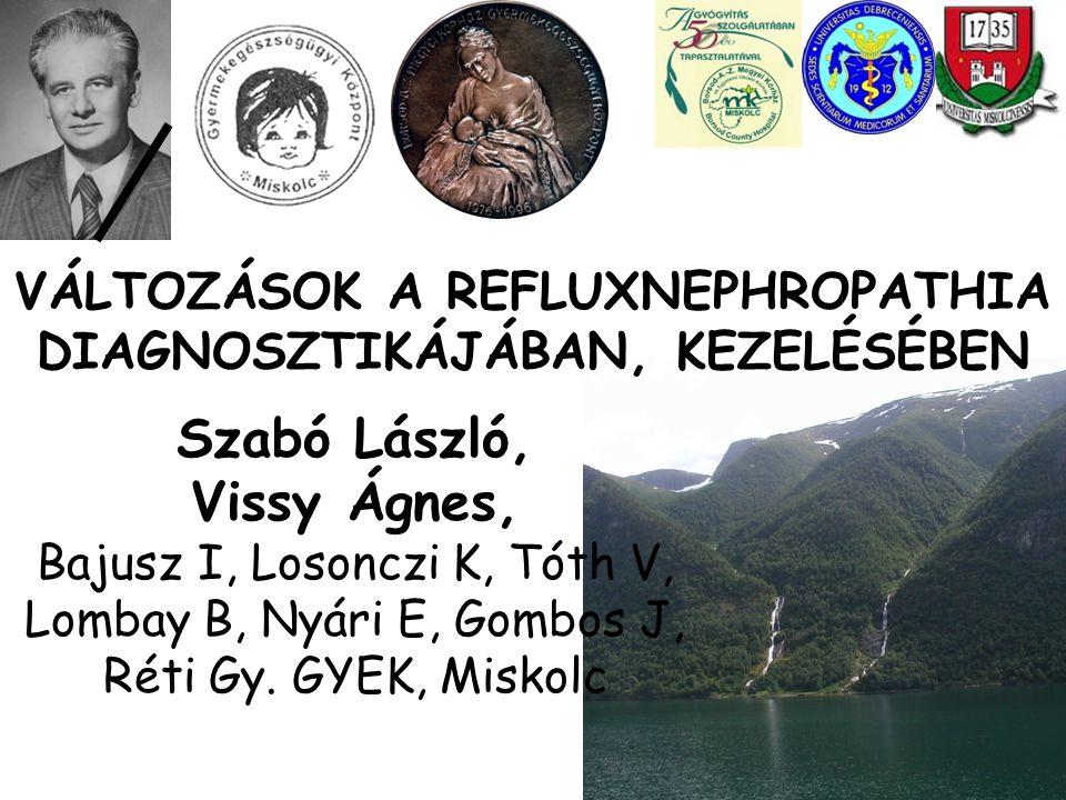 Pennesi: Észak-Kelet Olaszországi VUR vizsgálat: Is antibiotic prophylaxis in children with vesicoureteral reflux effective in preventing pyelonephritis and renal scars.