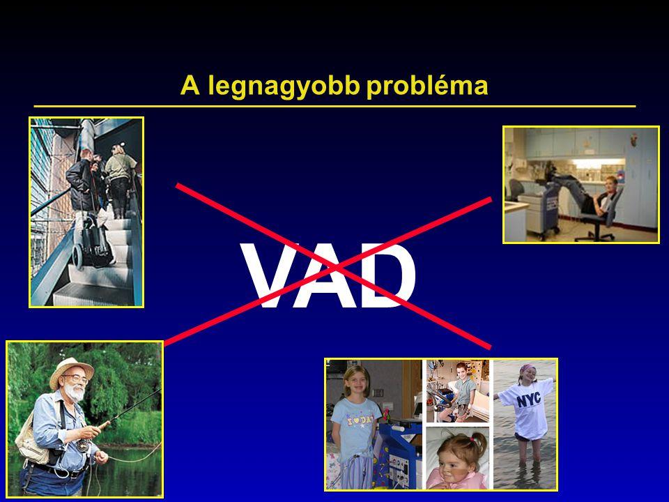 A legnagyobb probléma VAD