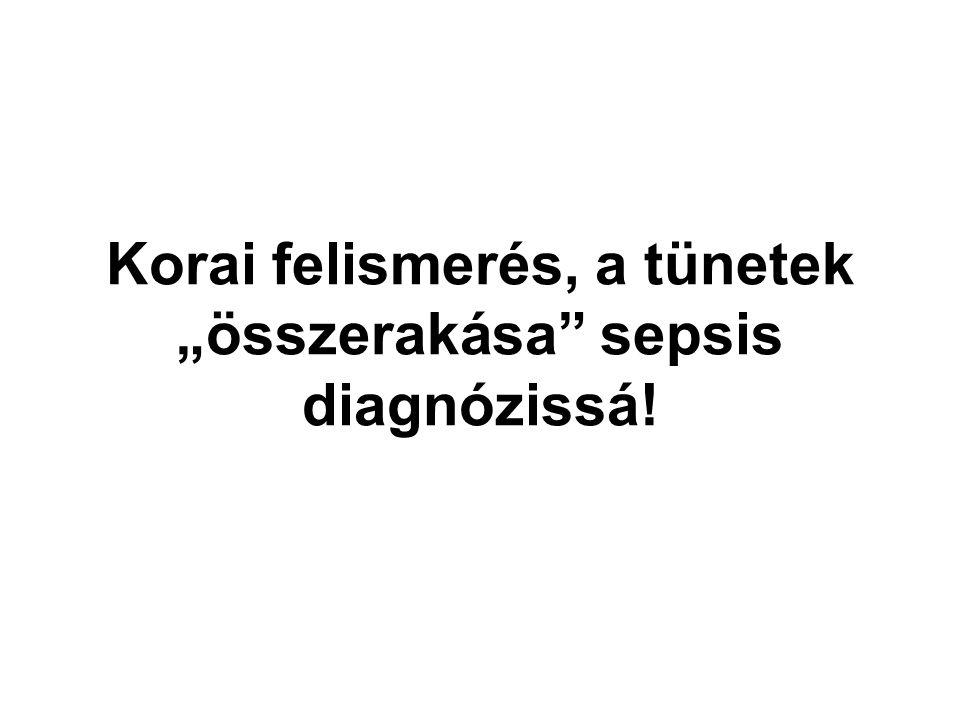 """Korai felismerés, a tünetek """"összerakása"""" sepsis diagnózissá!"""