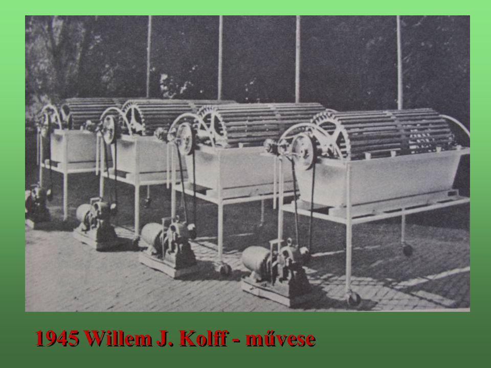 1940 - 47.Az első humán kísérletek: René Küss és David Hume 1940 - 47.