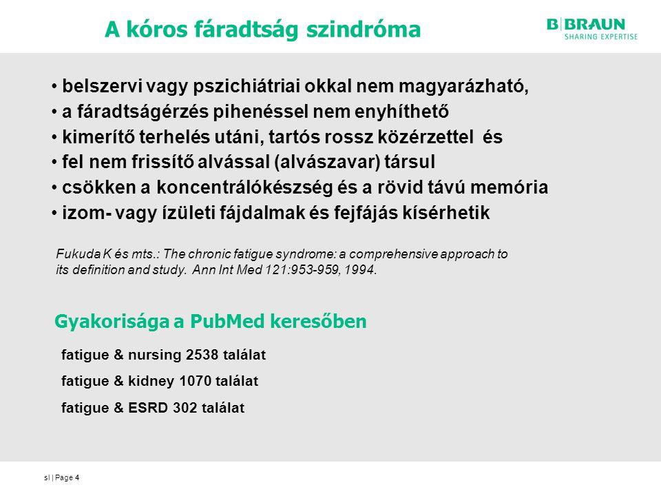 sl | Page4 A kóros fáradtság szindróma 4 fatigue & nursing 2538 találat fatigue & kidney 1070 találat fatigue & ESRD 302 találat Gyakorisága a PubMed