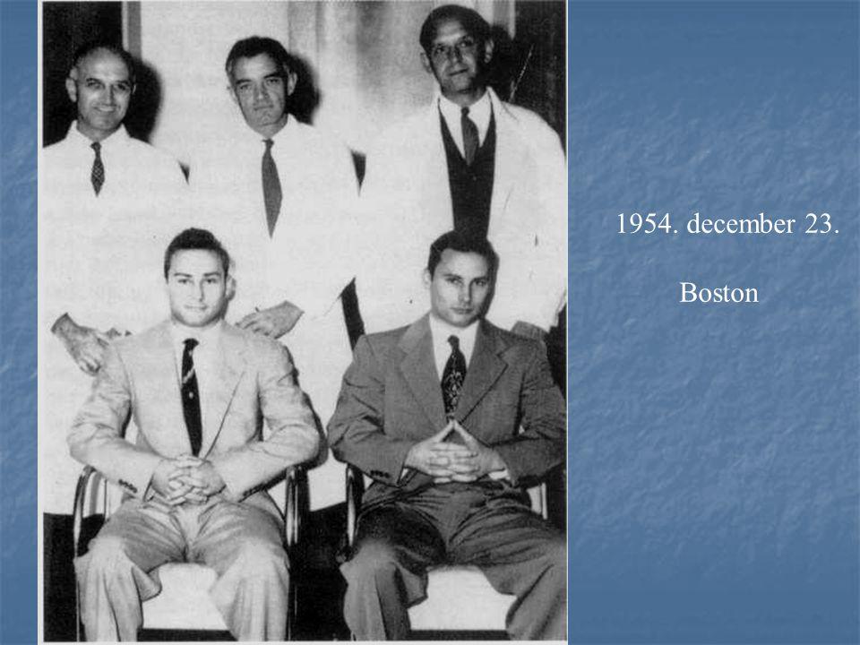 1954. december 23. Boston