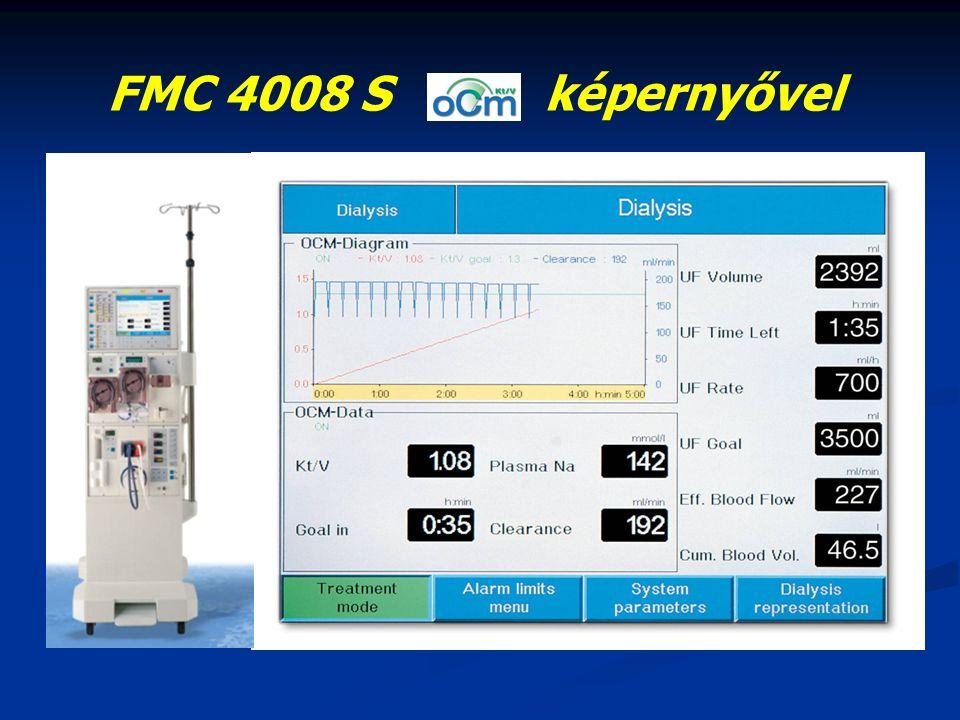 FMC 4008 S képernyővel
