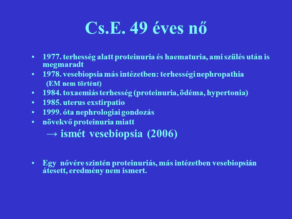 Cs.E.49 éves nő 1977.