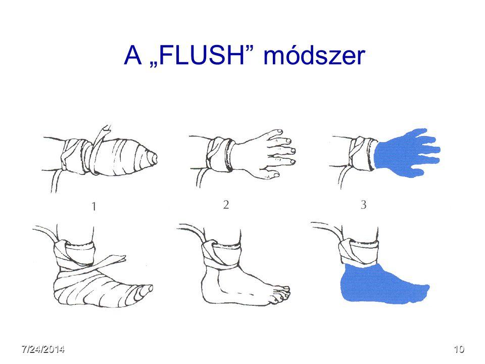 """7/24/201410 A """"FLUSH módszer"""