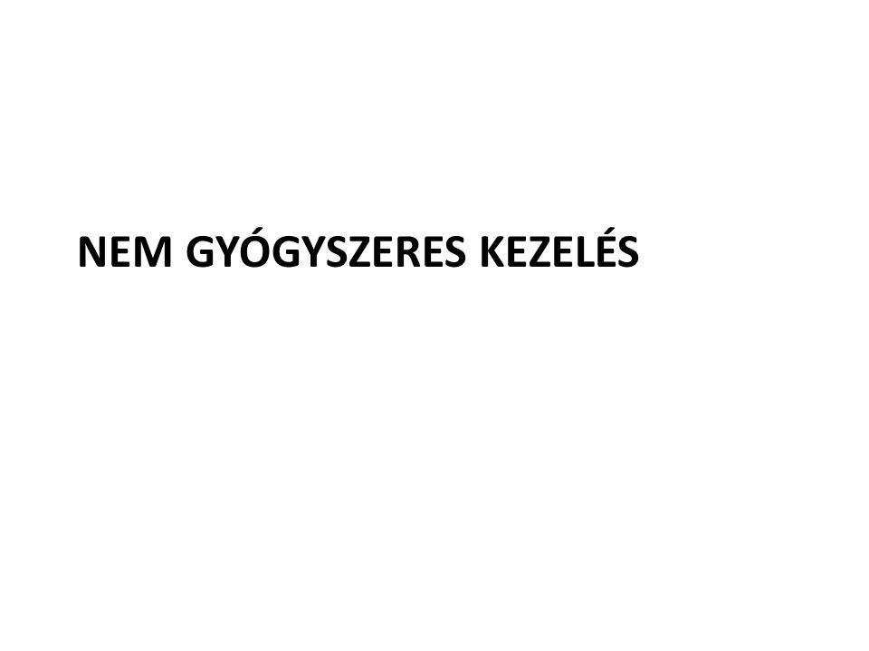 NEM GYÓGYSZERES KEZELÉS