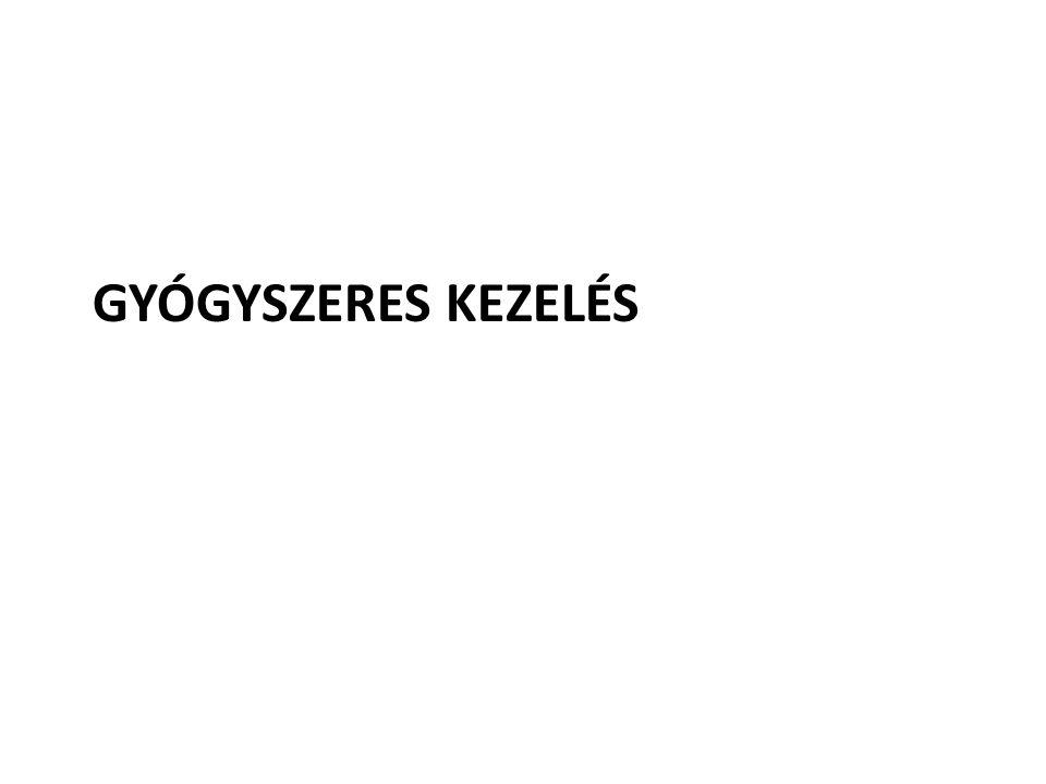 GYÓGYSZERES KEZELÉS
