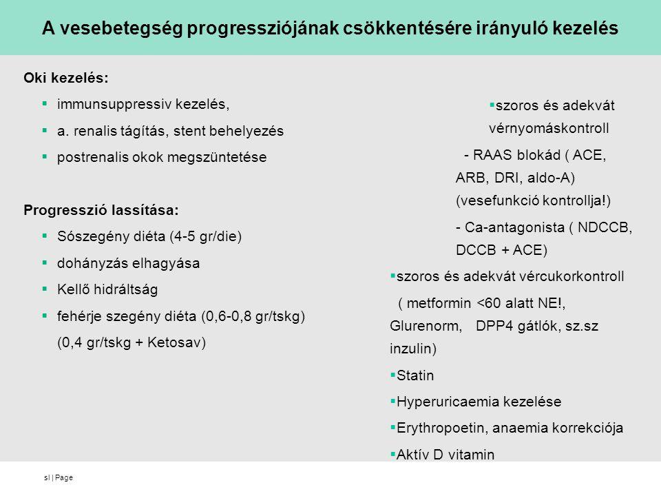 sl | Page Oki kezelés:  immunsuppressiv kezelés,  a.
