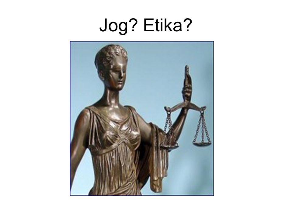 Jog? Etika?