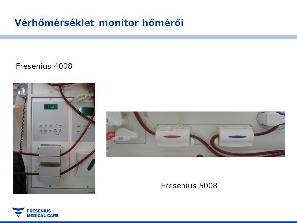 Vérhőmérséklet monitor hőmérői Fresenius 4008 Fresenius 5008