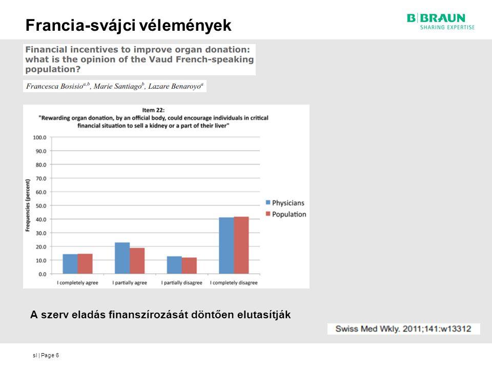 sl | Page6 Francia-svájci vélemények A szerv eladás finanszírozását döntően elutasítják