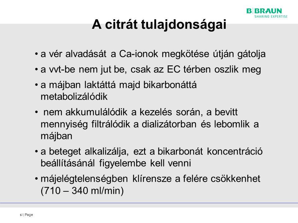 sl | Page A citrát tulajdonságai a vér alvadását a Ca-ionok megkötése útján gátolja a vvt-be nem jut be, csak az EC térben oszlik meg a májban laktátt