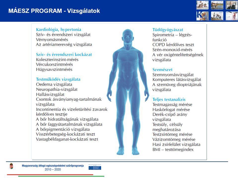 Ismert hypertonia és ismert krónikus vesebetegség – 2013-ban Hypertoniás 3305 Vesebeteg 340 156 BetegségNem ismertismertIsmert % hypertonia8541330527,9 vesebetegség105563403,2 A vesebetegek 46%-a hypertoniás A hypertoniások 4,7%-a vesebeteg