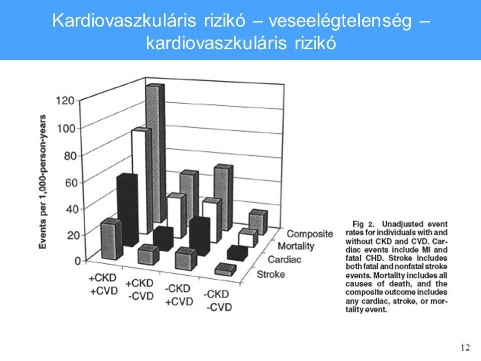 12 Kardiovaszkuláris rizikó – veseelégtelenség – kardiovaszkuláris rizikó