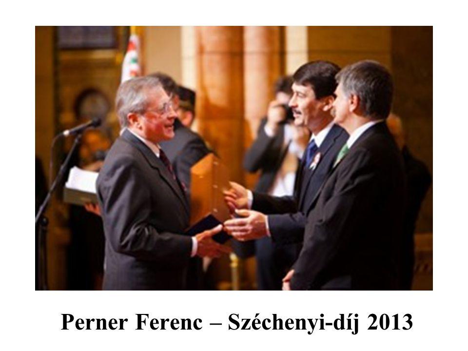Perner Ferenc – Széchenyi-díj 2013