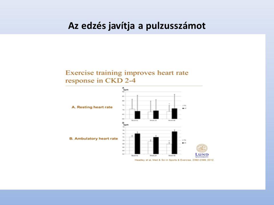 Az edzés javítja a pulzusszámot