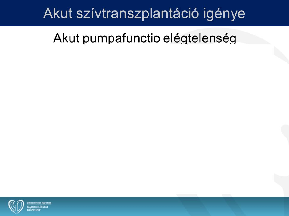 LVAD-ról HTX-re kerülő betegek aránya (%) Katholieke Universiteit Leuven Prof.