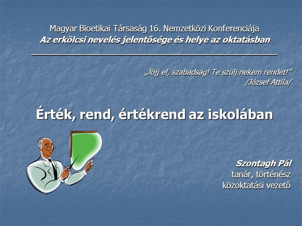 Magyar Bioetikai Társaság 16.
