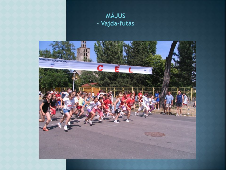 MÁJUS - Vajda-futás