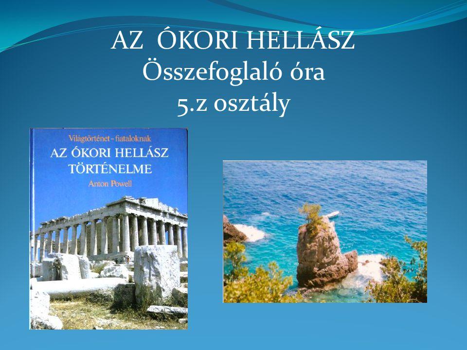 Olümposz, Athén, Spárta, Szalamisz, Thermopülai, Marathón, Hellészpontosz, Athosz-hegyfok, Olümpia