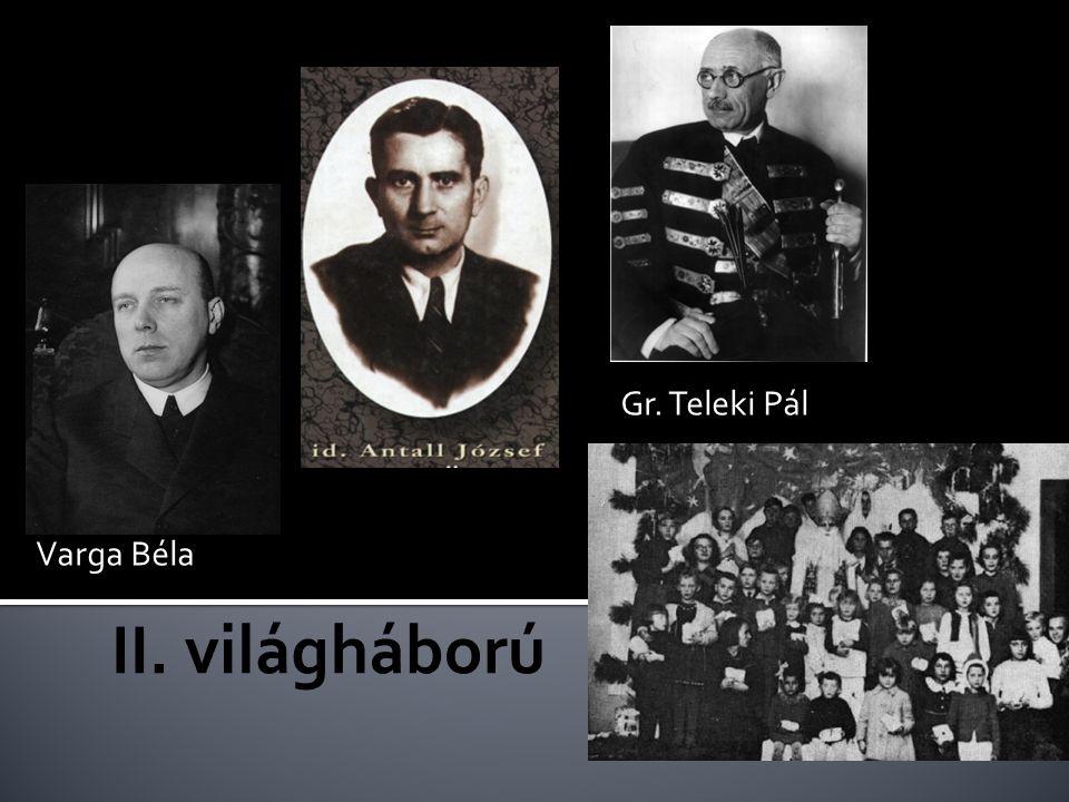 Gr. Teleki Pál Varga Béla