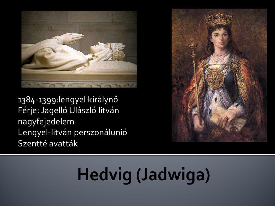 Anjou Hedvig fia 1440-1444 magyar király 1444:Várnai csatavesztés (Hunyadi János)