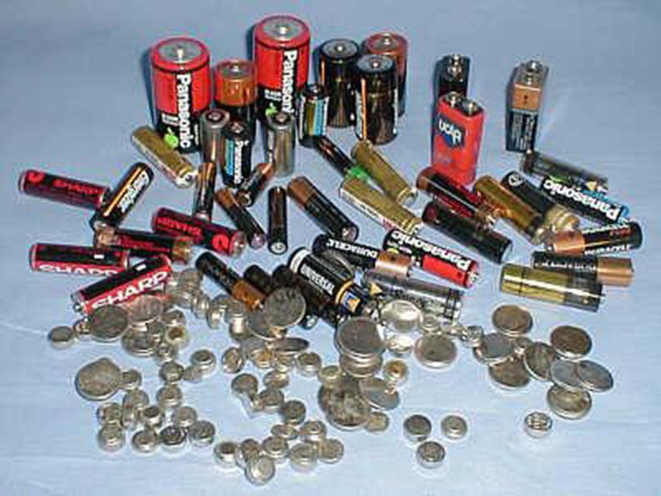 SZELEKTÍV HULLADÉKGYŰJTÉS Az elemek, akkumulátorok mérgező fémeket tartalmaznak, emiatt veszélyes hulladéknak számítanak.