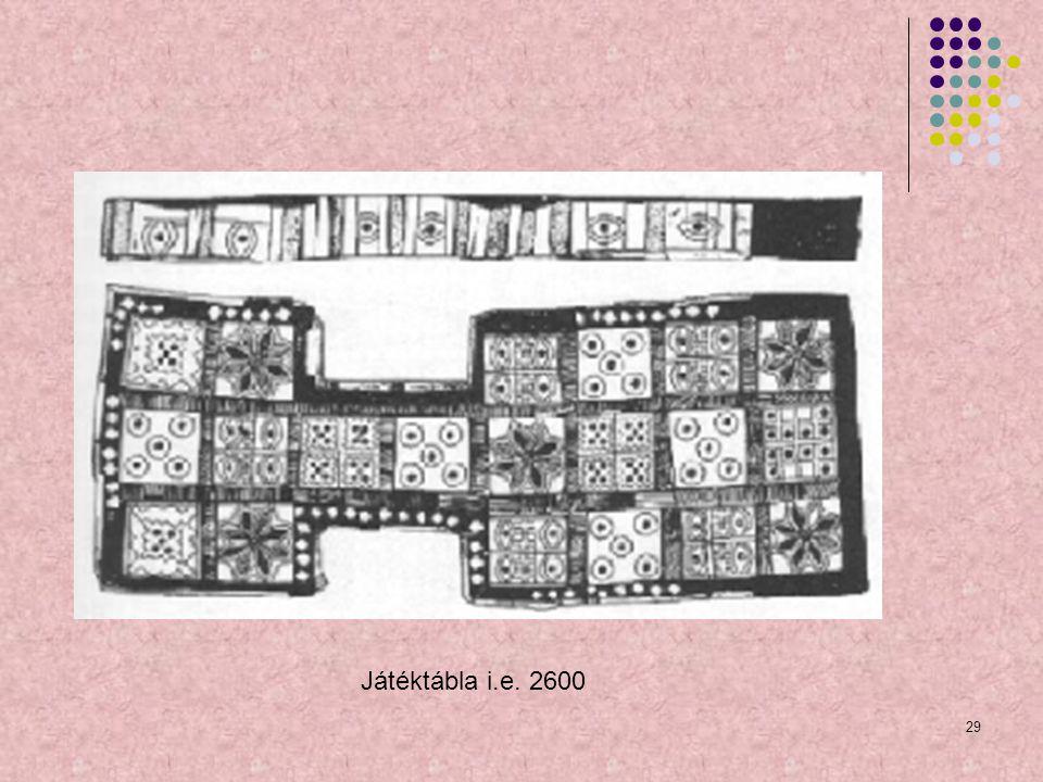 29 Játéktábla i.e. 2600