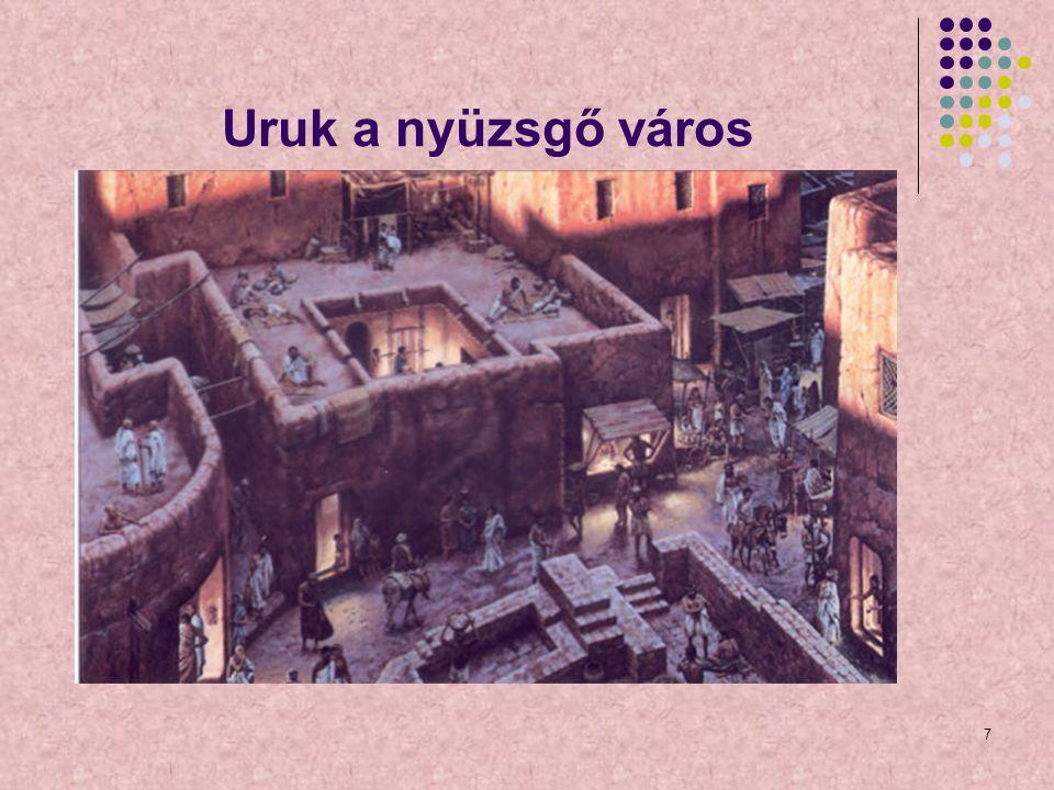 Uruk a nyüzsgő város 7