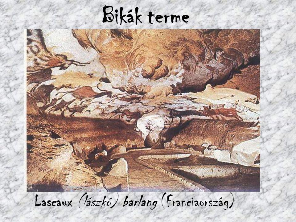 Bikák terme Lascaux (lászkó) barlang (Franciaország)