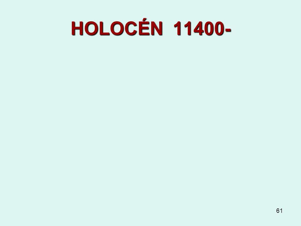 61 HOLOCÉN 11400-