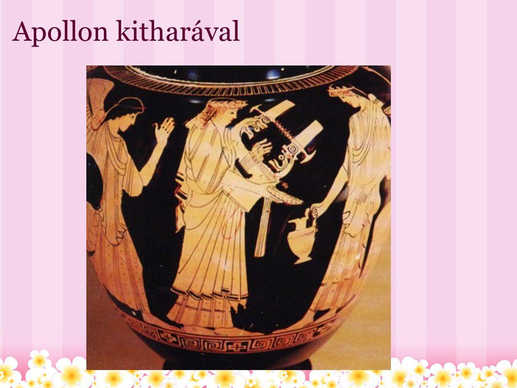 Apollon kitharával