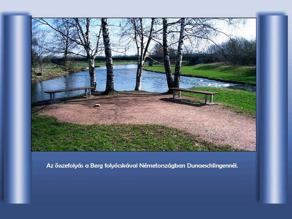A Duna Europa második legnagyobb folyama (els ő a Volga), hossza: 2.850 kilométer, vízgy ű jt ő területe: 817 000 négyzetkilométer. Forrása: Németorsz