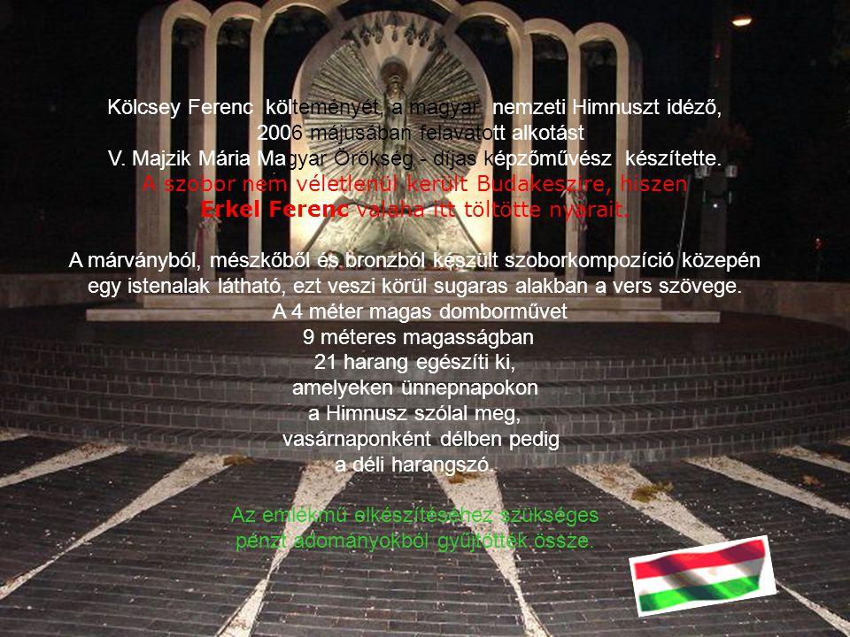"""Himnusz-szobor """"Minden nemzet Himnusza, az összetartozás és a megmaradás vágyát, a jövőbe vetett hitet fejezi ki"""" – olvashatjuk a hír felvezetését a N"""
