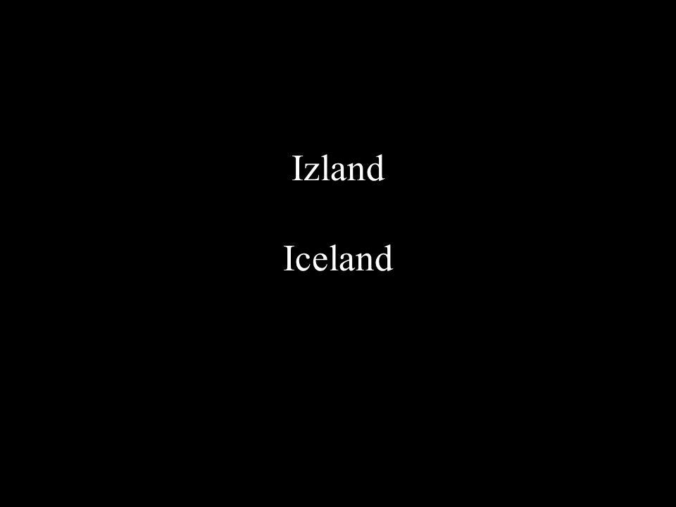 Izland Iceland